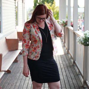 Jackets & Blazers - Floral Print Blazer